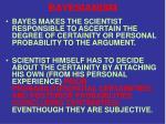 bayesianism