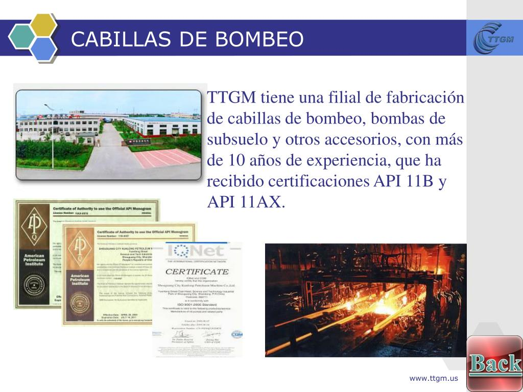 CABILLAS DE BOMBEO