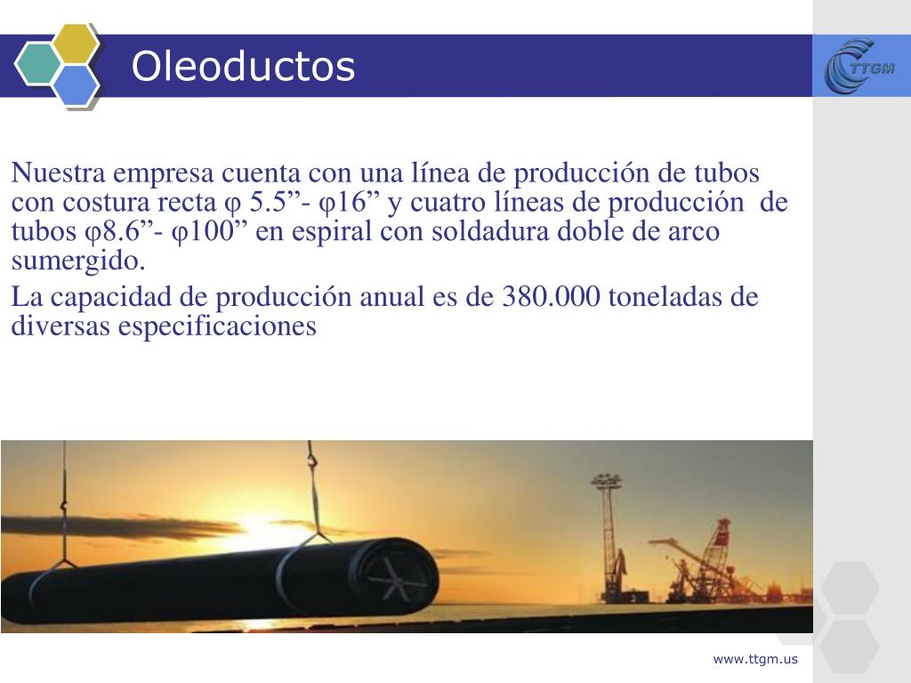 Oleoductos