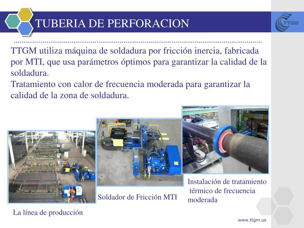 TUBERIA DE PERFORACION