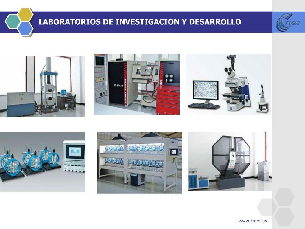 LABORATORIOS DE INVESTIGACION Y DESARROLLO