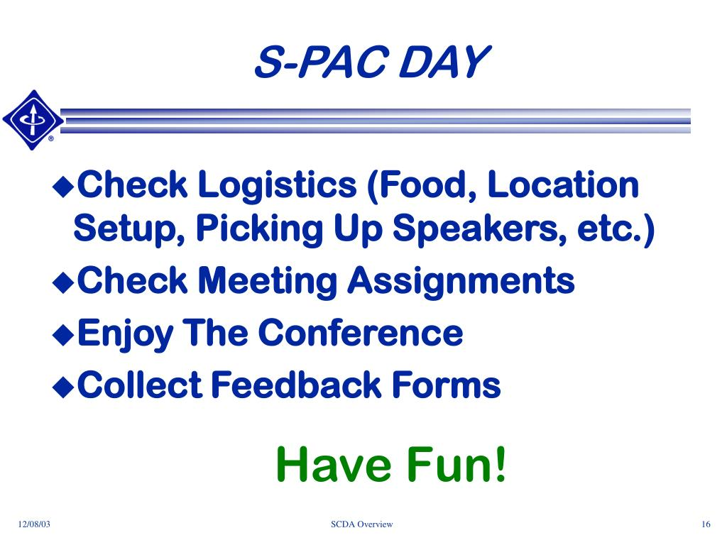 S-PAC DAY