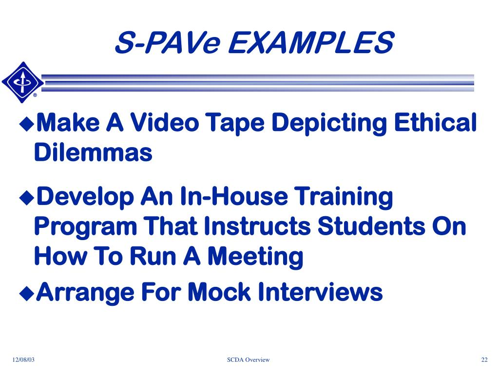 S-PAVe EXAMPLES