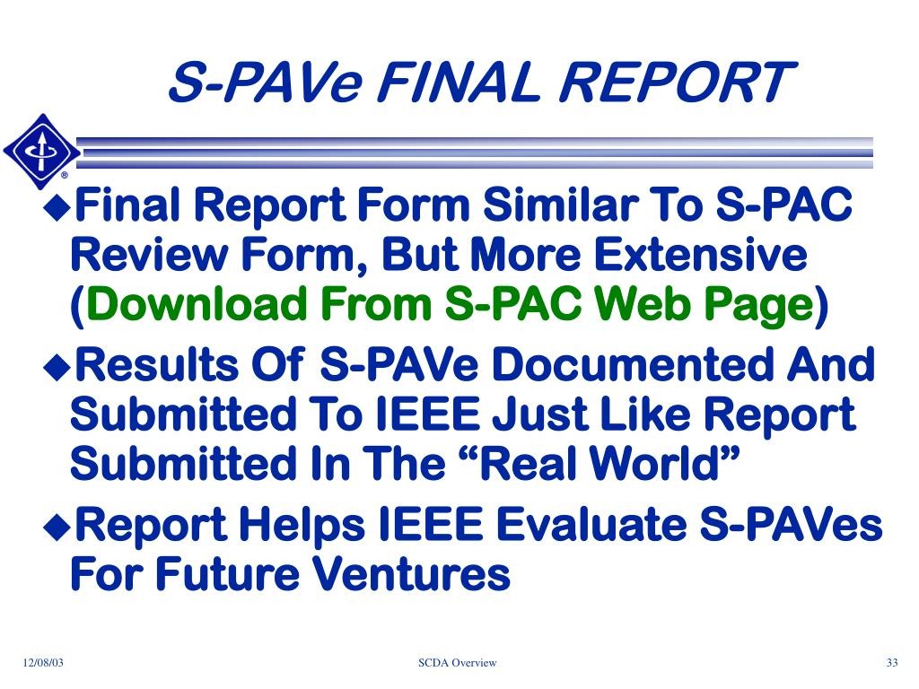 S-PAVe FINAL REPORT