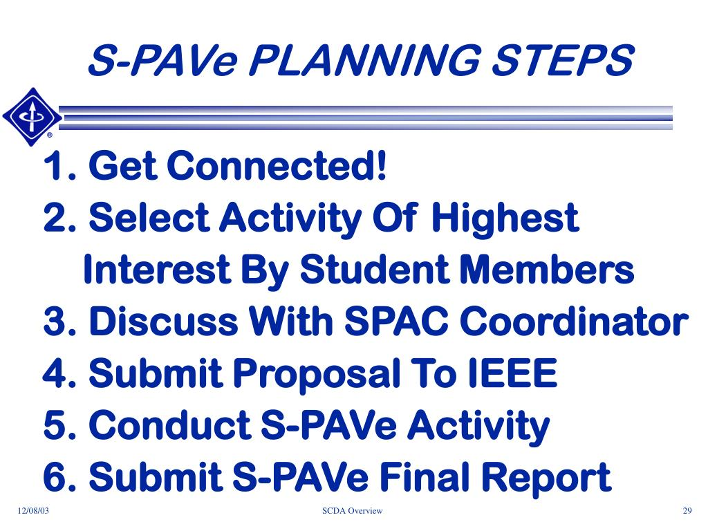 S-PAVe PLANNING STEPS