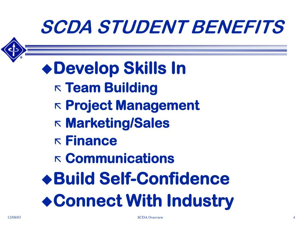 SCDA STUDENT BENEFITS