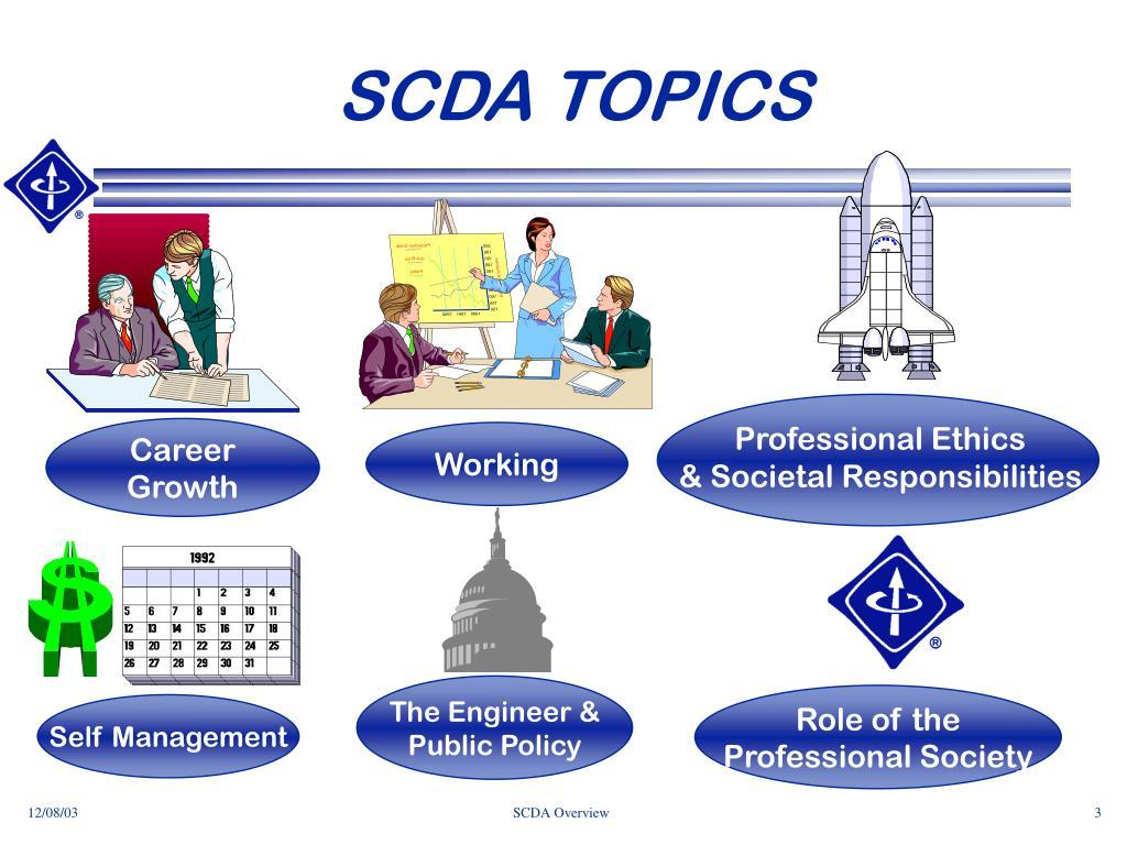 SCDA TOPICS