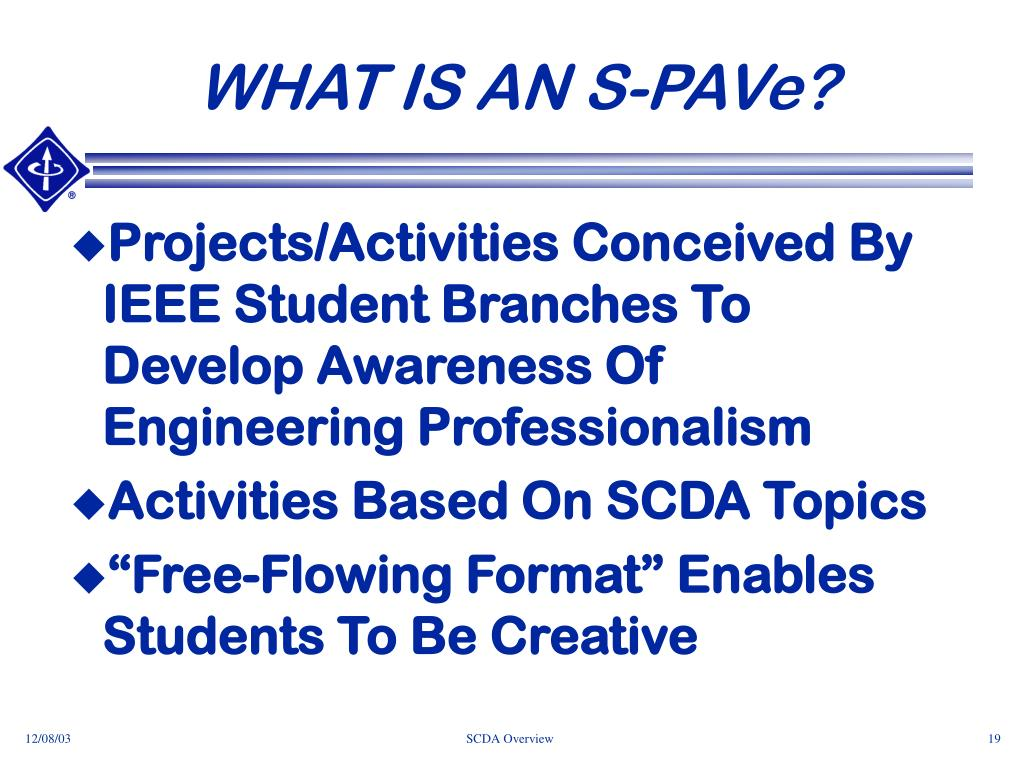WHAT IS AN S-PAVe?