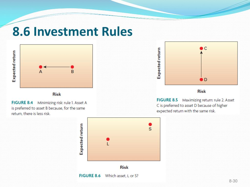 8.6 Investment Rules