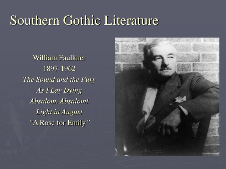 southern gothic literary tradition