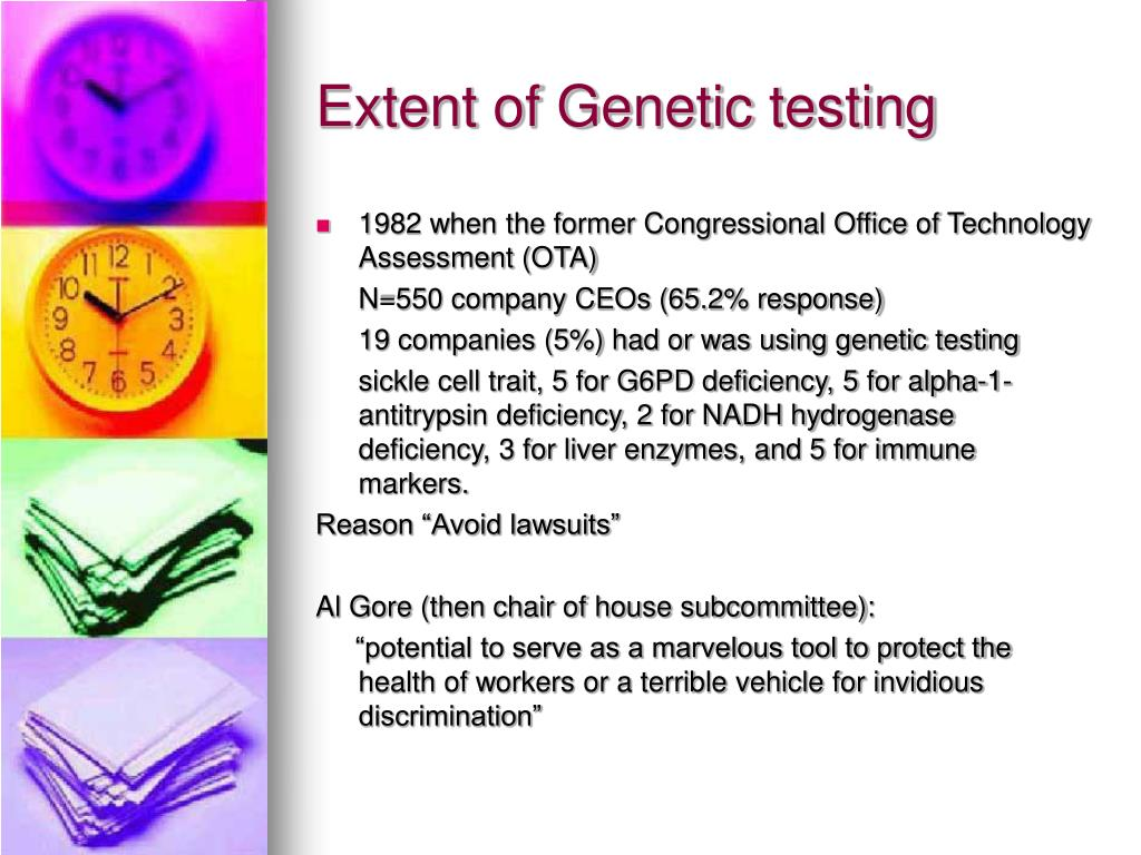 Extent of Genetic testing