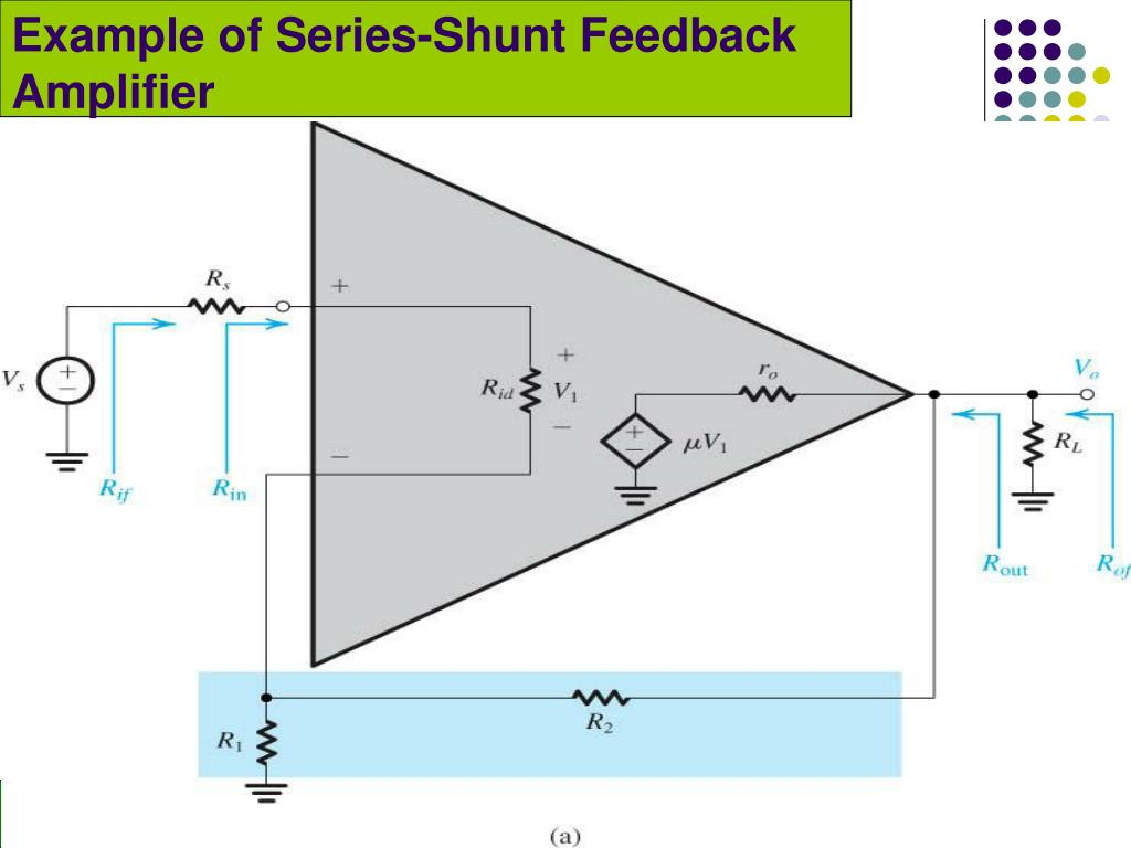 Example of Series-Shunt Feedback Amplifier