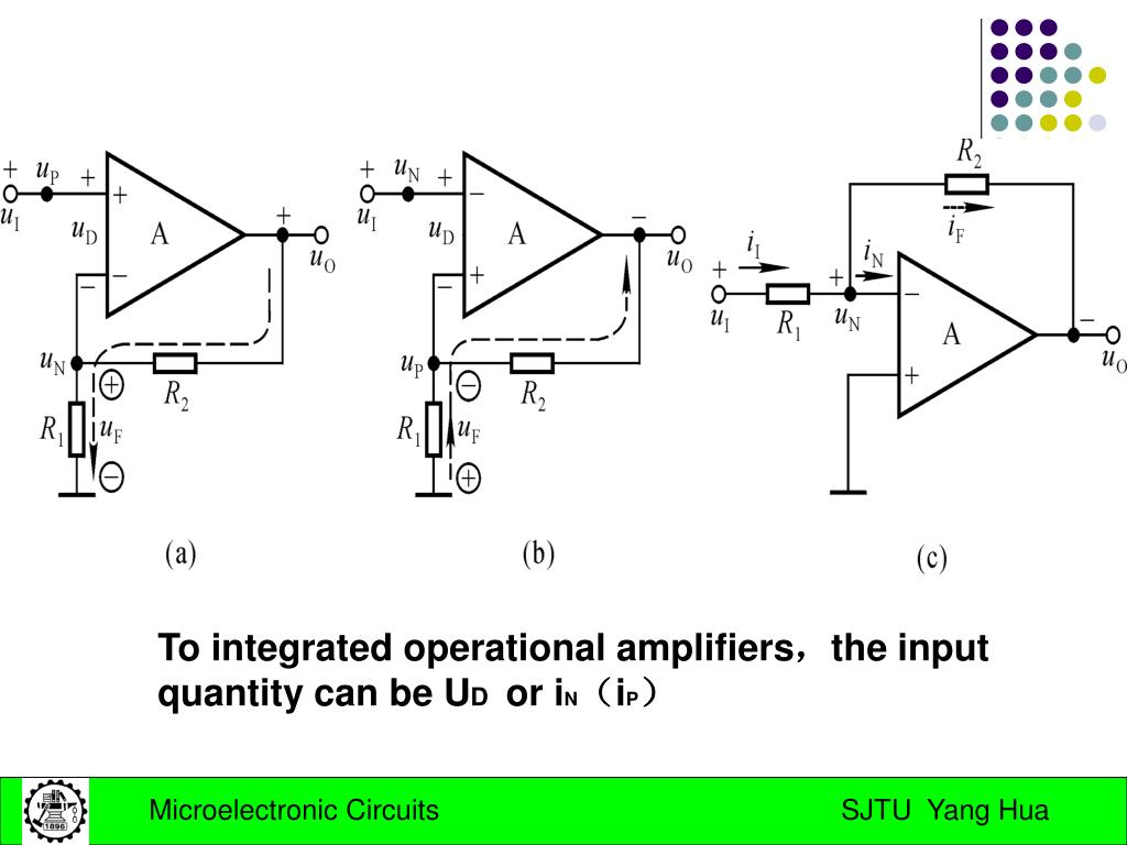To integrated operational amplifiers