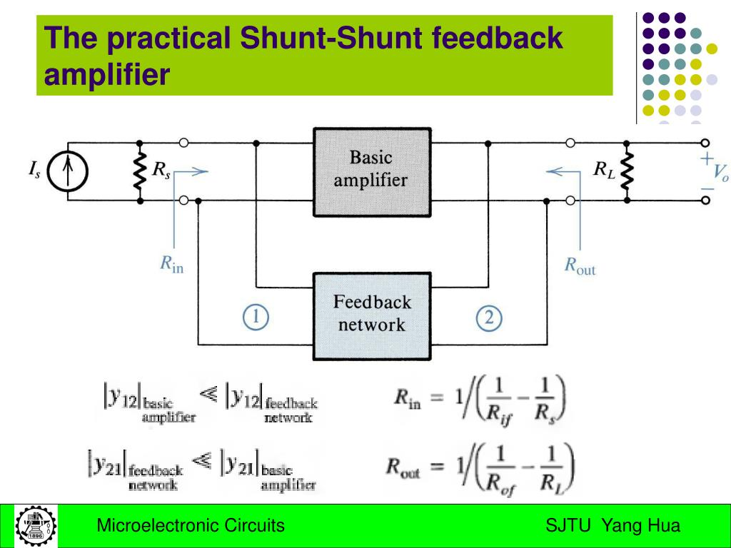 The practical Shunt-Shunt feedback amplifier