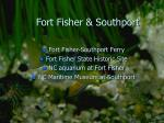 fort fisher southport