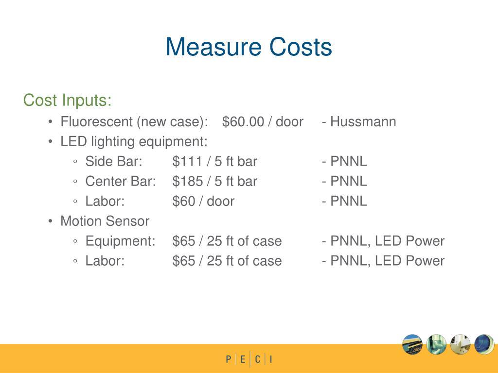 Measure Costs