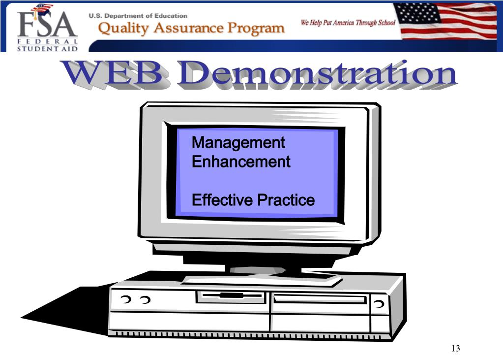 WEB Demonstration