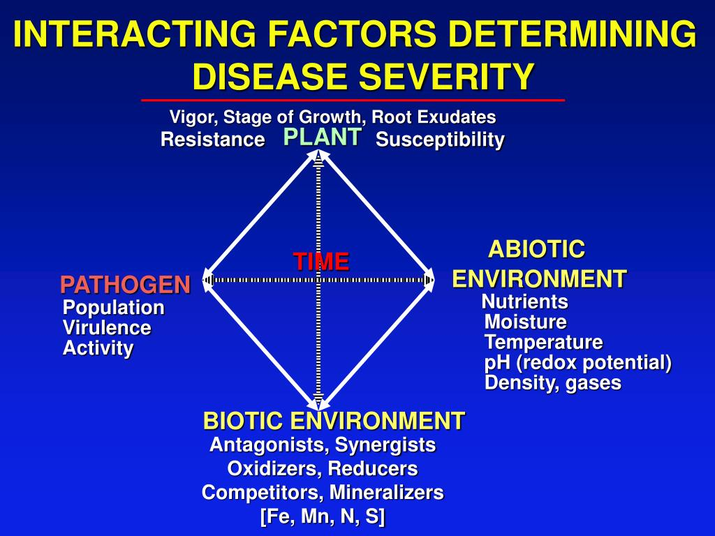 INTERACTING FACTORS DETERMINING