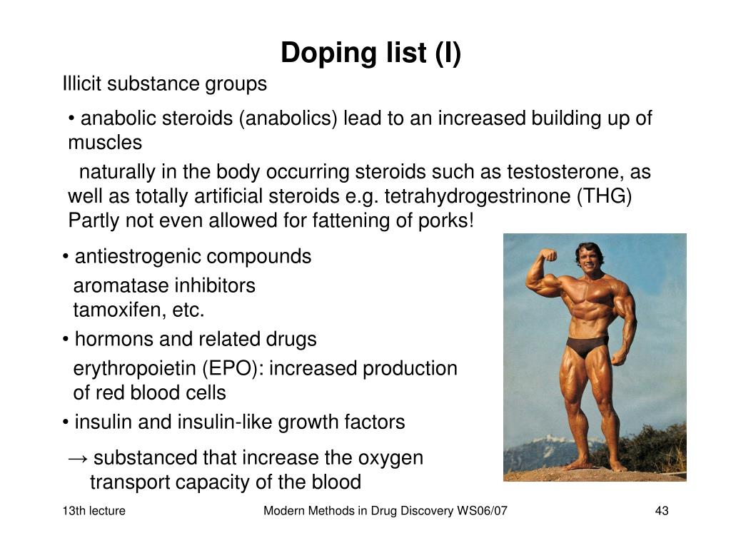 Doping list (I)