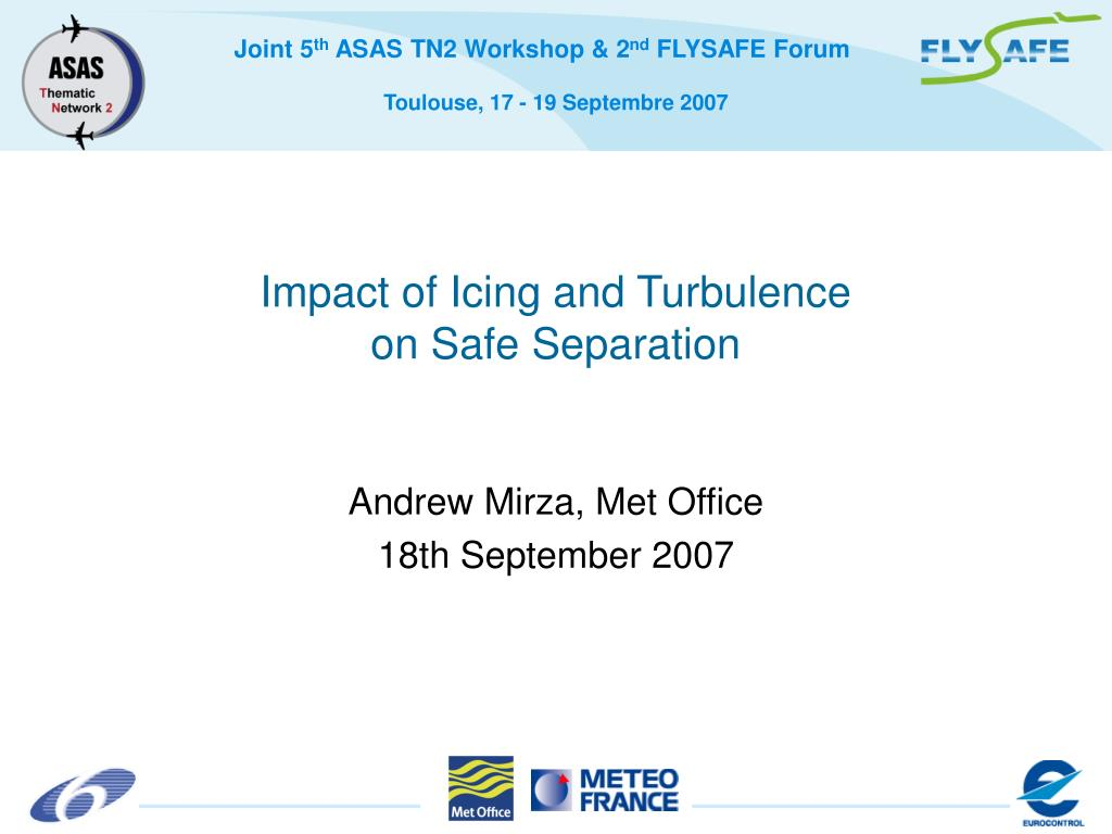 Impact of Icing and Turbulence