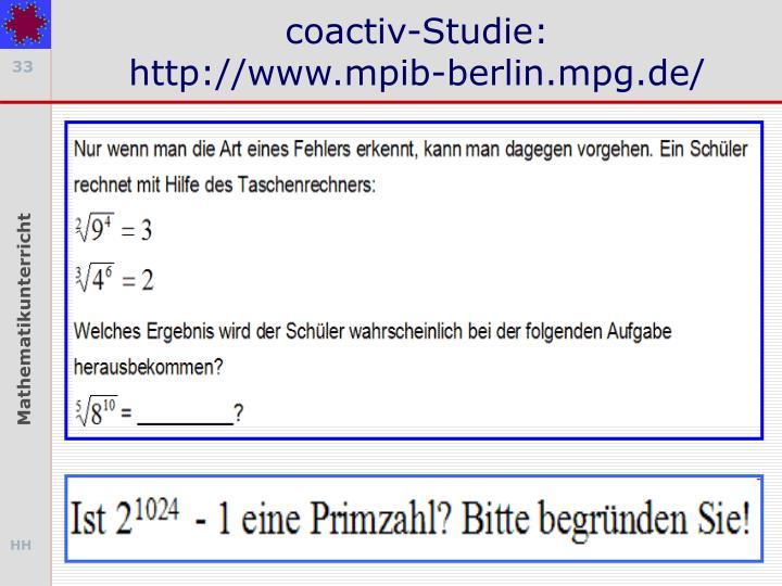 coactiv-Studie:
