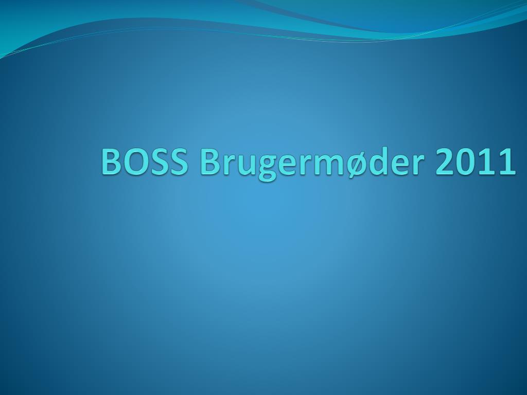 boss brugerm der 2011 l.