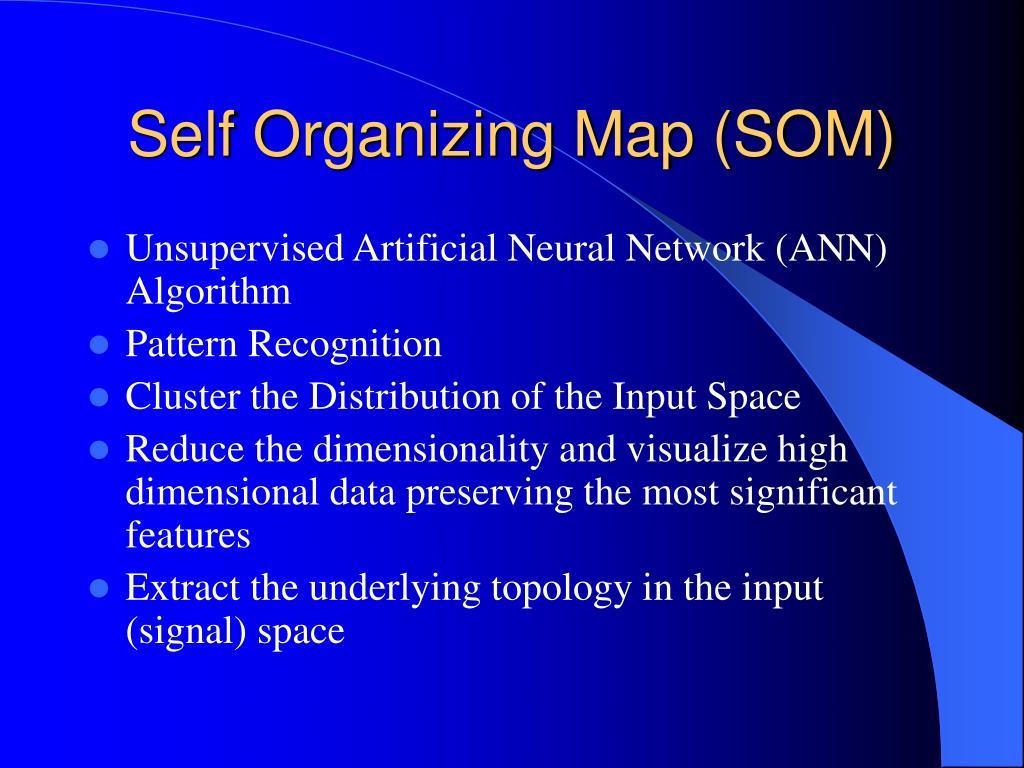 Self Organizing Map (SOM)