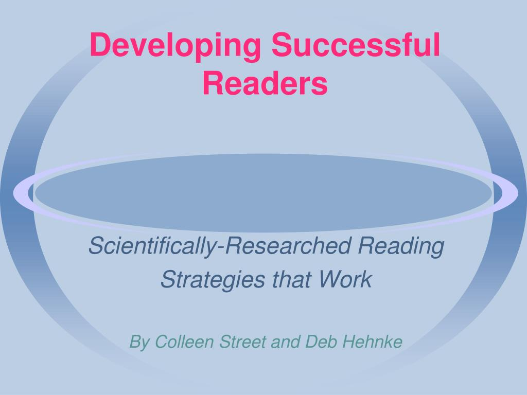 Developing Successful Readers