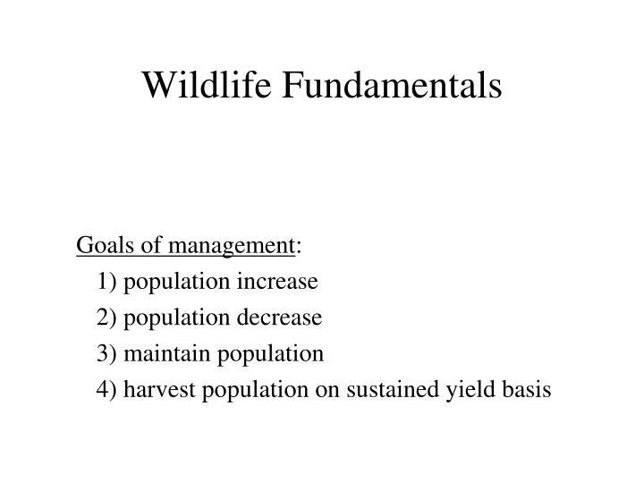 Wildlife fundamentals2