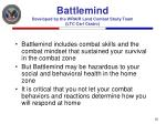 battlemind developed by the wrair land combat study team ltc carl castro