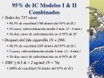 95 de ic modelos i ii combinados