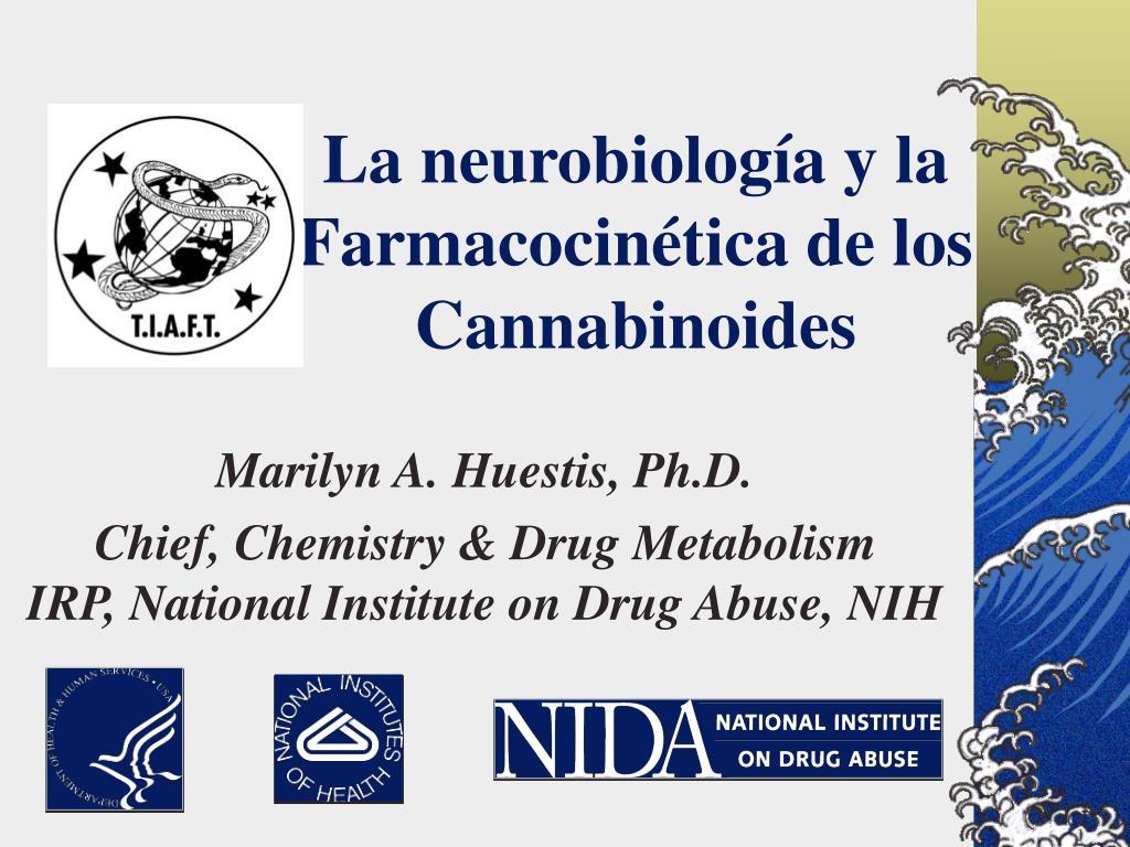 la neurobiolog a y la farmacocin tica de los cannabinoides l.
