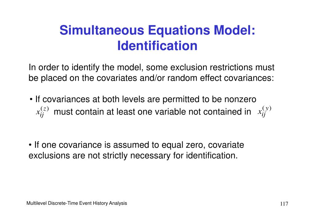 If covariances at both levels are permitted to be nonzero