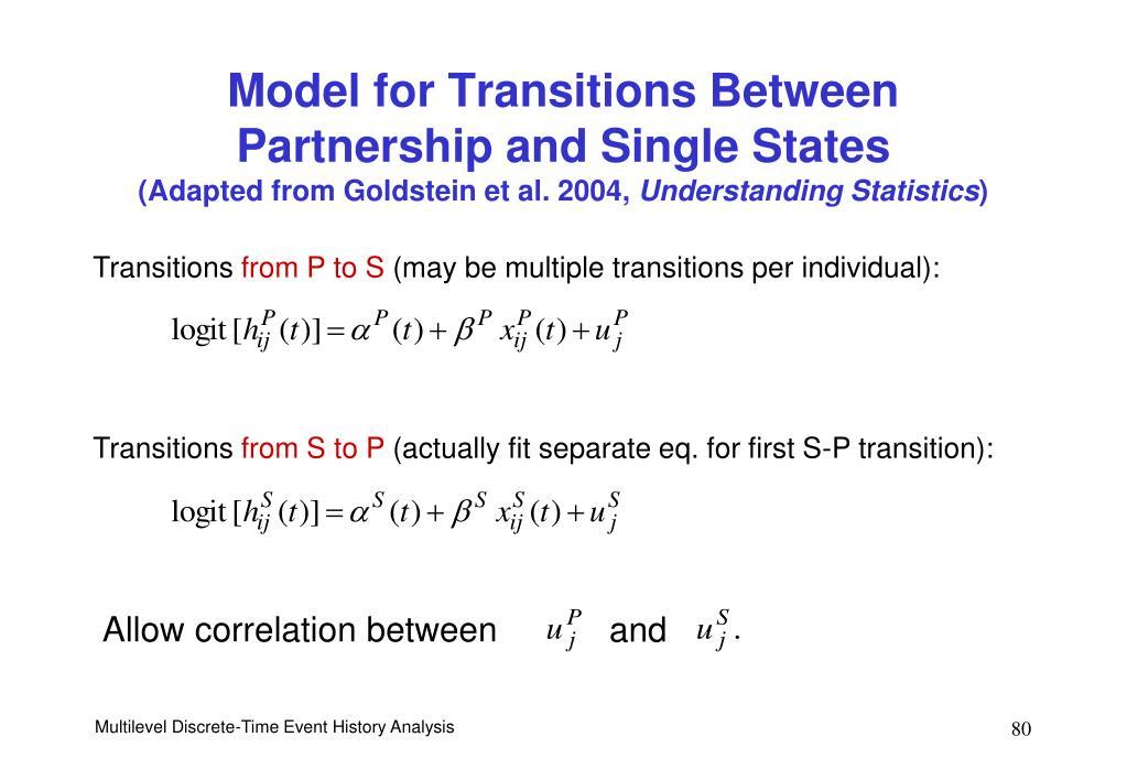 Allow correlation between