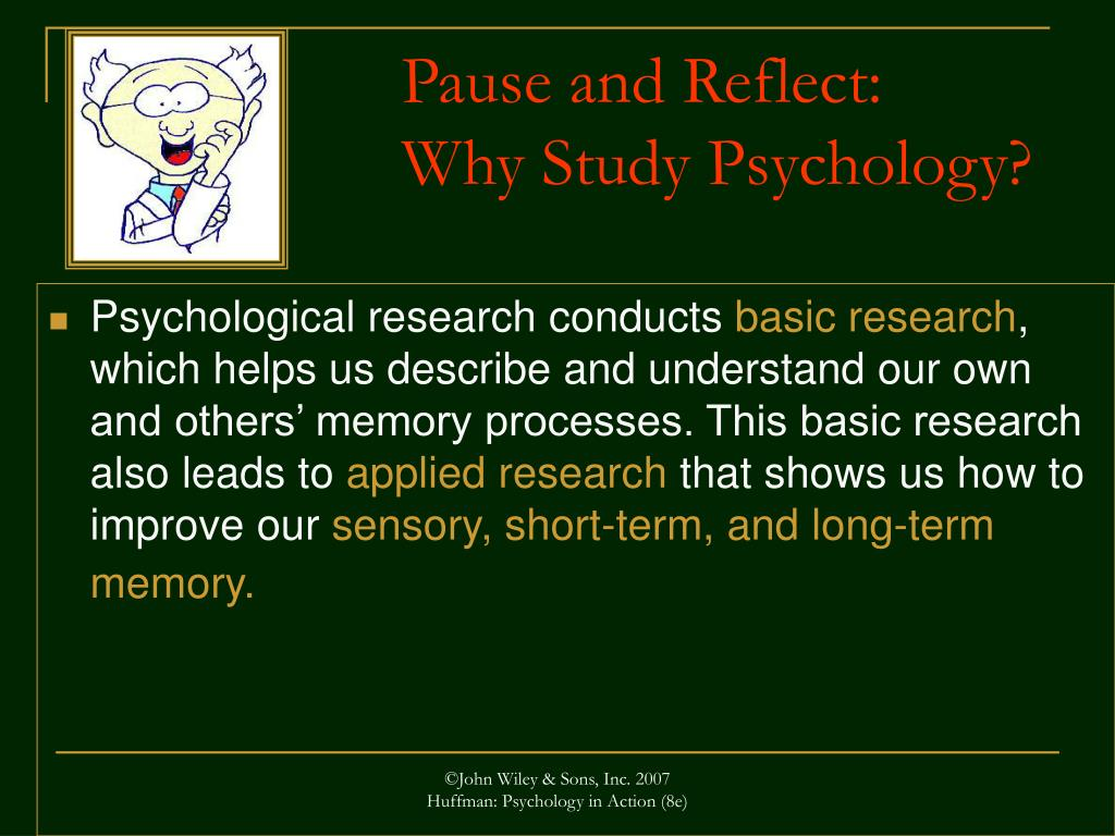 Pause and Reflect: