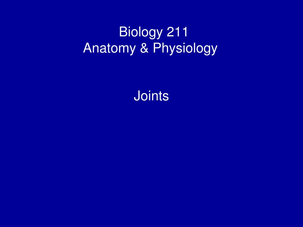 Biology 211