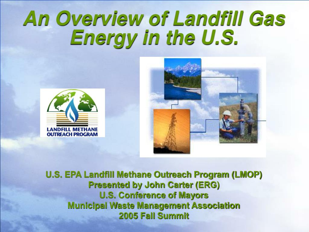 an overview of landfill gas energy in the u s