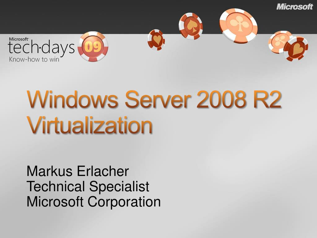 windows server 2008 r2 virtualization l.
