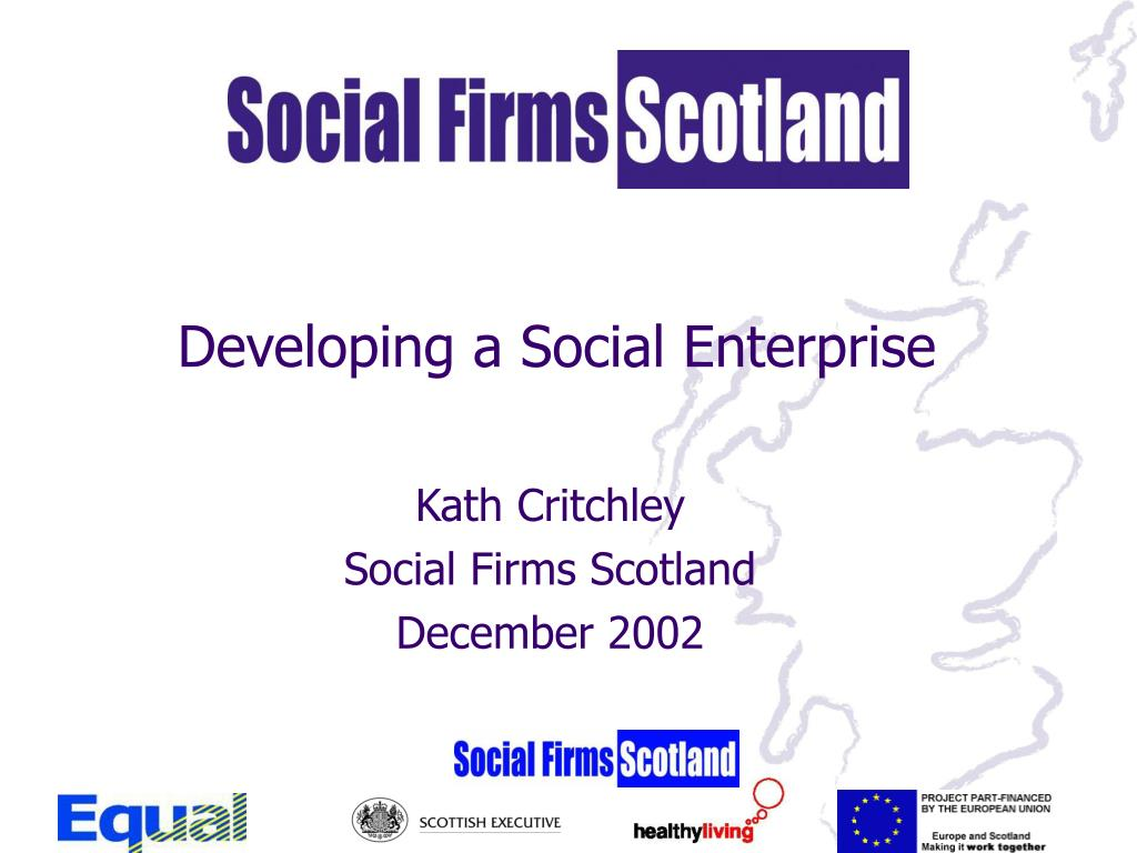 developing a social enterprise l.