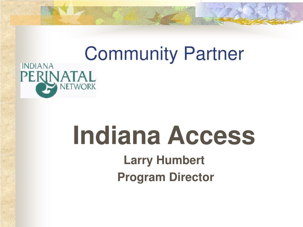 Community Partner