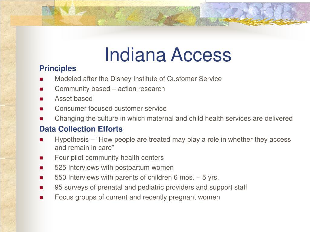Indiana Access