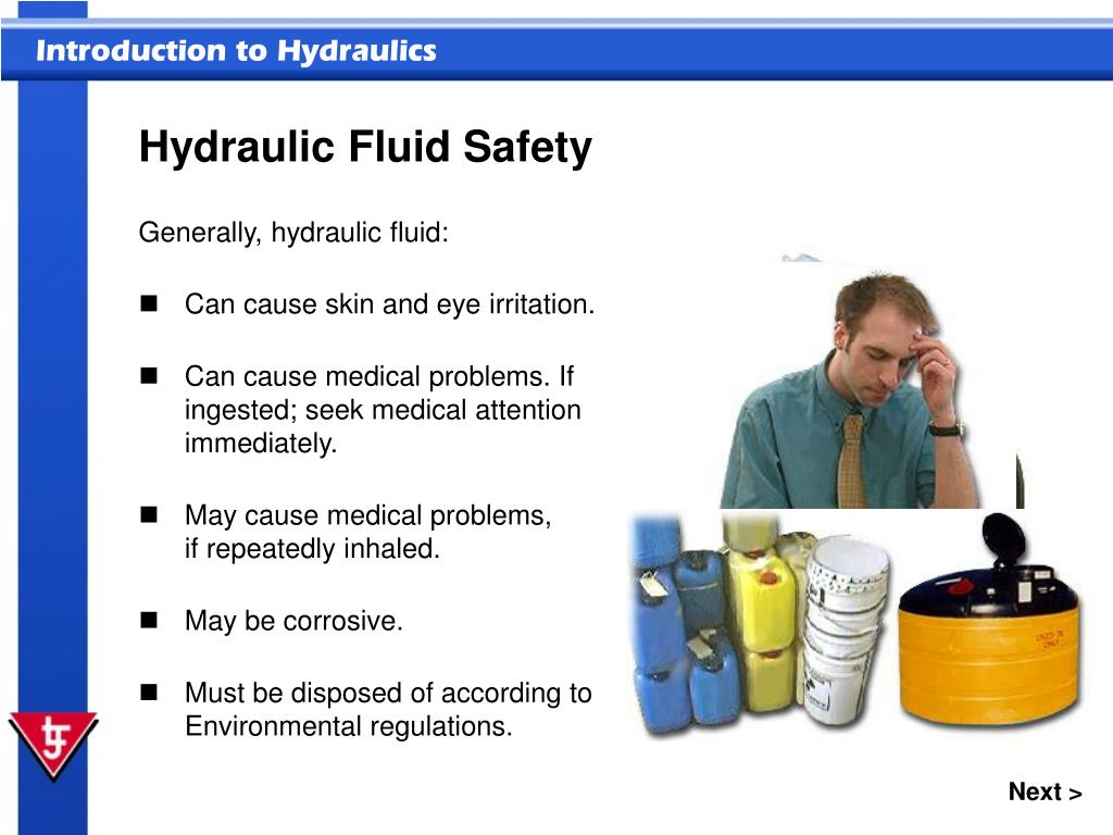 Hydraulic Fluid Safety
