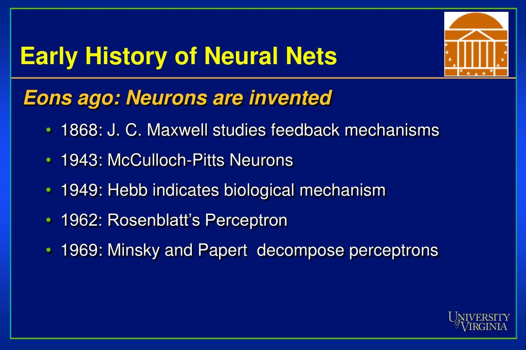 Early History of Neural Nets