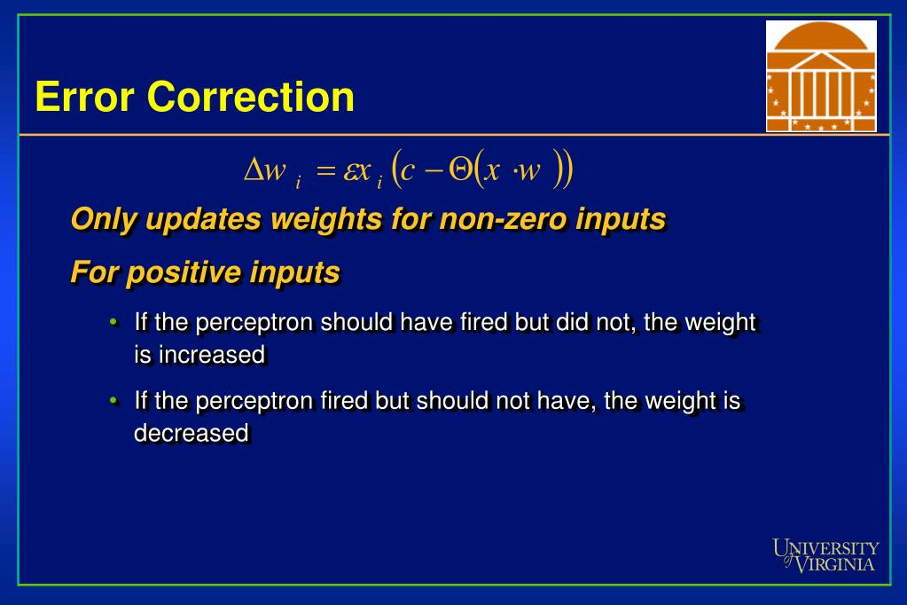 Only updates weights for non-zero inputs