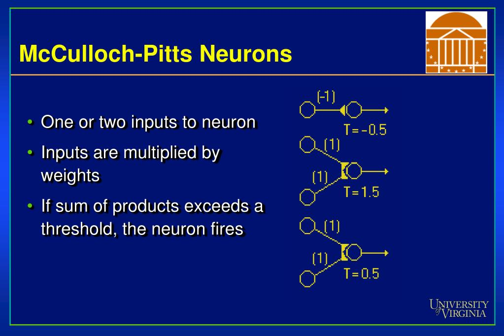 One or two inputs to neuron