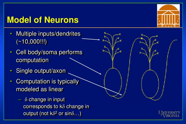 Model of neurons