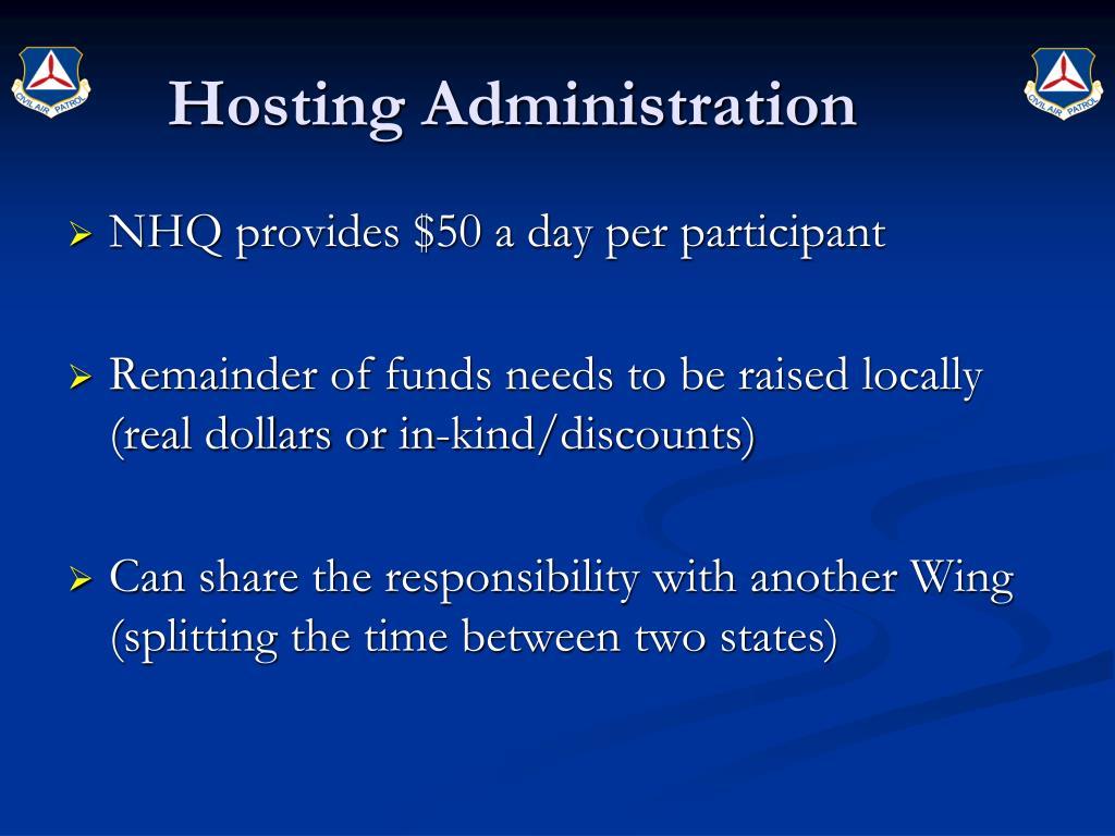 Hosting Administration