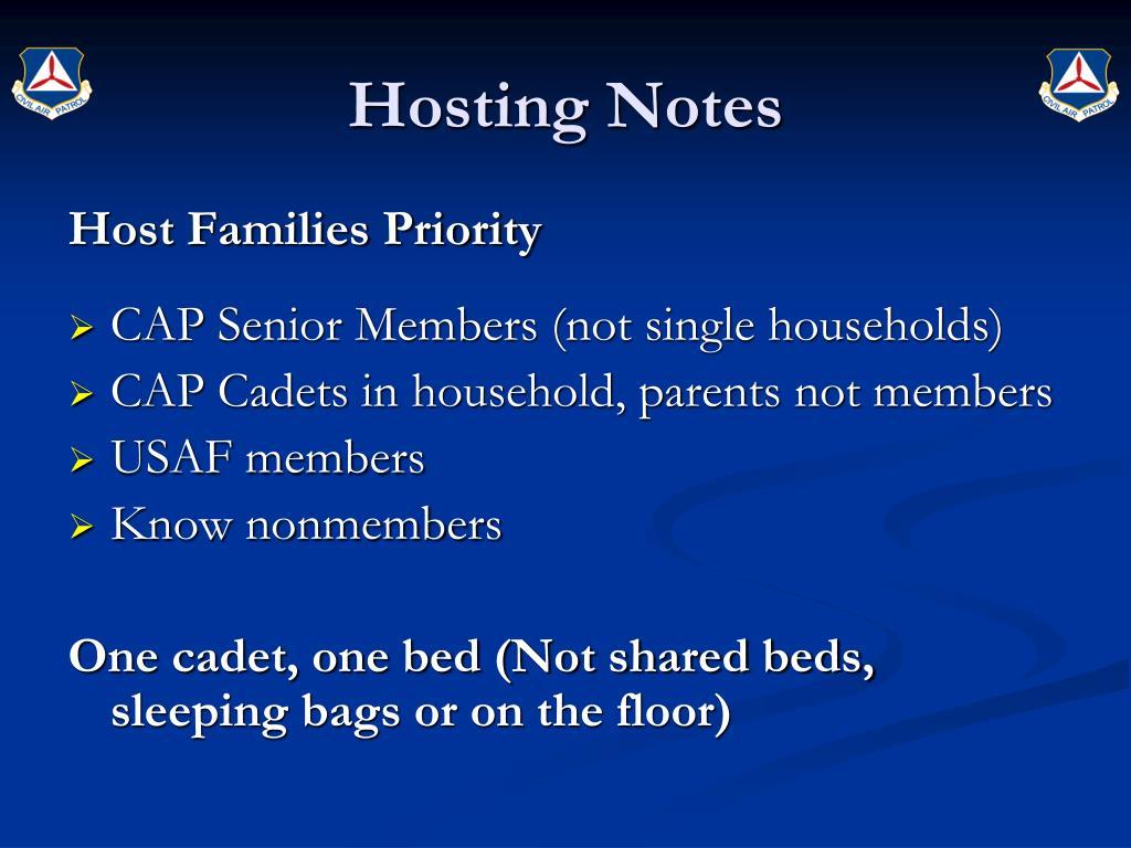 Hosting Notes