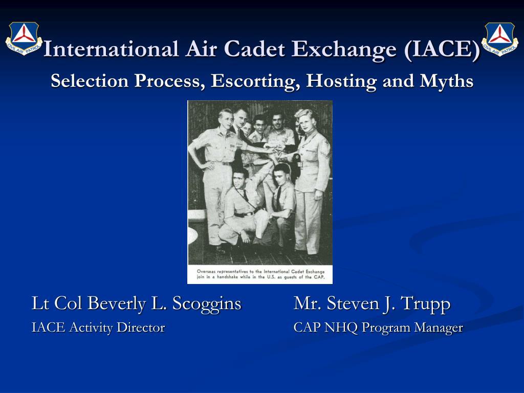 International Air Cadet Exchange (IACE)