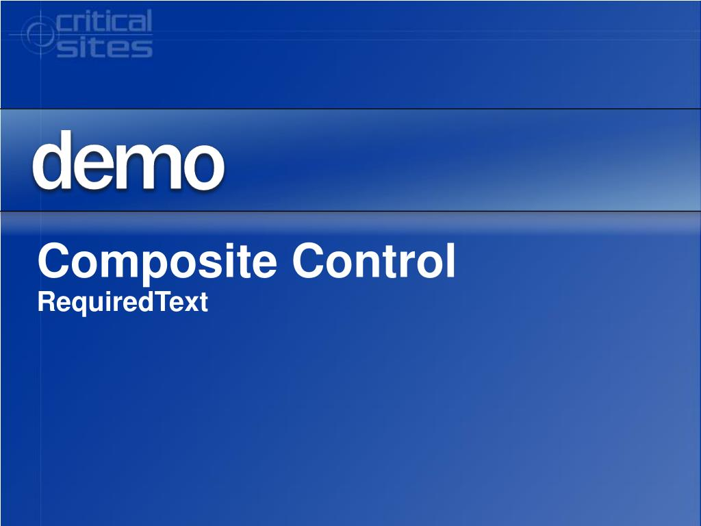Composite Control